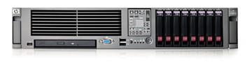 Сервер HP ProLiant DL380 G5 Server Rack 2U Xeon 5060 DualCore 3.2GHz/2x2Mb, 2x1Gb, SAS HotPlug Drive Cage (max 8 SFF HDD), RAID P400 256Mb (0/1/5), noCD, noFDD, iLO2, Dual Gigabit Ethernet