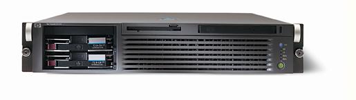 Сервер HP ProLiant DL560 2xXeonMP-3.0/4Mb,   1Gb PC1600/200MHz, Ultra3-SCSI (max. 2x300Gb), HP, 3/3 PCI, SA5i, CD, FDD, Dual Gigabit NIC, 2x550 Watt, 2 Units