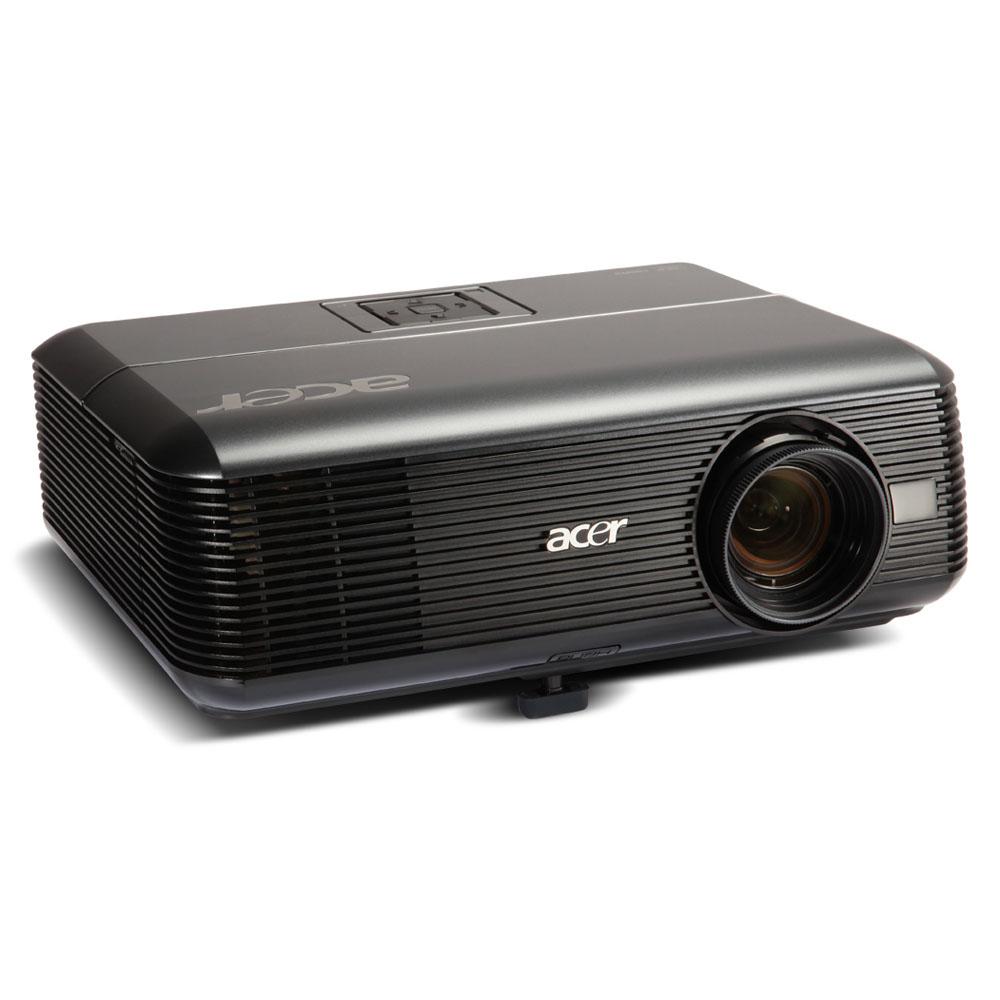 Проектор ACER P5271, DLP, ColorBoost™ II, EcoPro, ZOOM, XGA 1024x768, 4.1KG, '3700:1, 3100 LUMENS, HDMI, DVI