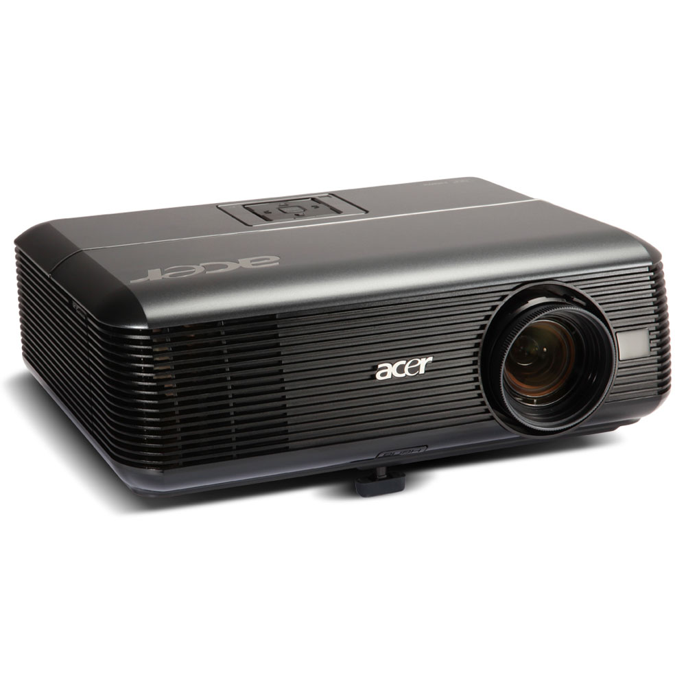Проектор Acer projector P1373WB, WXGA/DLP/HDMI 1.4 3D/3100 Lm/17000:1/10000 Hrs/USB-A/USB-mini B/HDMI/LAN/Wi-Fi via Adapter(option)/2.4 kg/Carry case