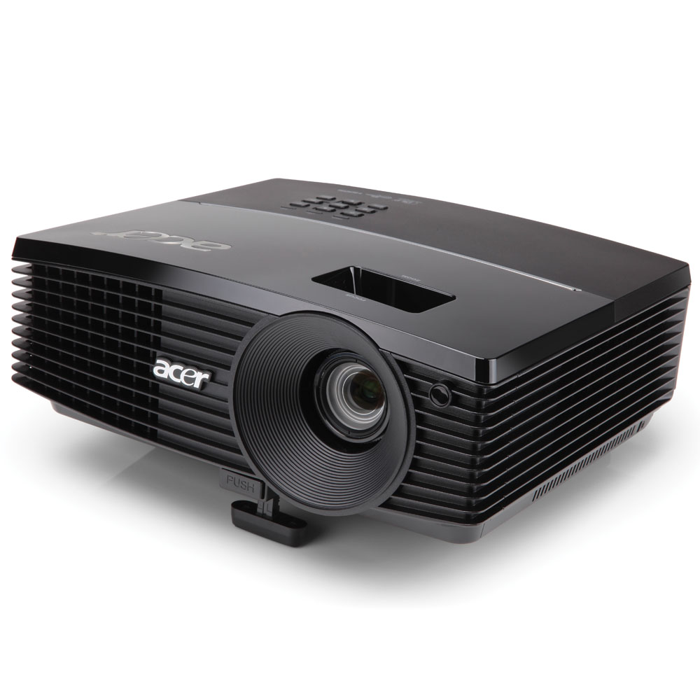 Проектор Acer projector P1383W, WXGA/DLP/3D/3100 Lm/13000:1/10000 Hrs/2Wx1/HDMI(MHL)/USB mini-B/Wi-Fi via Adapter(option)/Carrying case/2.5Kg, replace MR.JGU11.001 (P1341W)