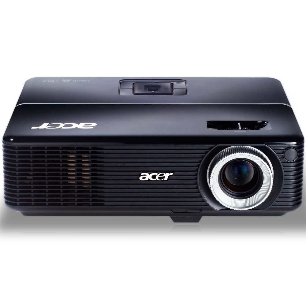 Проектор Acer projector P1273B, XGA/DLP/HDMI1.4 3D/3000 Lm/17000:1/10000 Hrs/USB-A/USB-mini B/HDMI/LAN/Wi-Fi via Adapter(option)/2.4 kg/Carry case