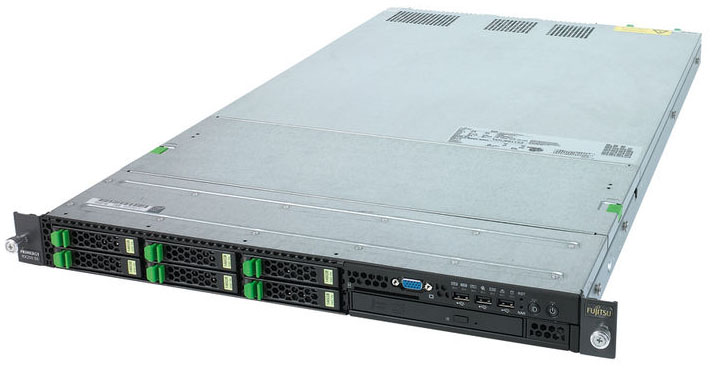 Сервер Fujitsu PRIMERGY RX200 S5 Server   2xXeon DP X5550 - 2.66GHz, 4x4Gb DDR3-1333, 8x2.5  hotplug backplane, SAS RAID 0/1/10/5/50/6/60 512M, 2xhotplug power supply 770W, hot plug fans, 2xLAN