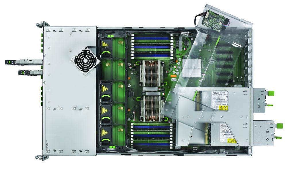 Сервер Fujitsu PRIMERGY RX300 S6 Server   2U Xeon E5645 2.40GHz, 12MB, 2x8GB DDR3 1333MHz, 8x2.5  hotplug backplane, DVDRW, RAID Ctrl SAS 6G 5, 6 512MB, RMK