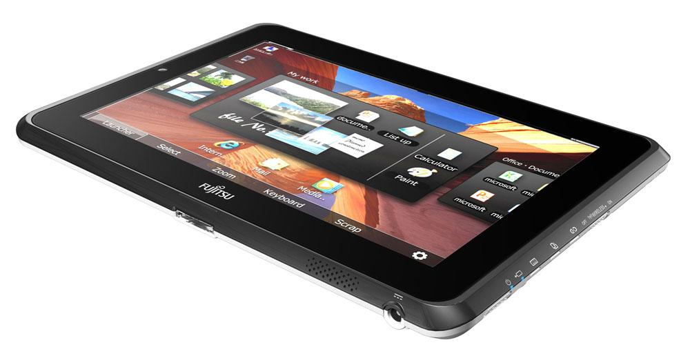 Планшет Fujitsu STYLISTIC Q550   Dual digitizer 10.1  (1280 x 800) Atom Z670 1.5GHz, 512K, 2 GB DDR2 800, SSD SATA 62GB, WLAN, BT, UTMS, FP, Pen, Cradl, 4cell 5.240mAh, Win7Pro 32RUS