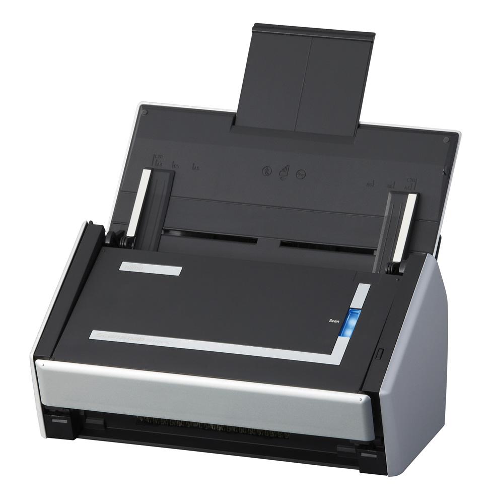 Сканер Fujitsu ScanSnap S1500, цветной, двухсторонний, 20 стр./мин, ADF 50, USB 2.0, A4