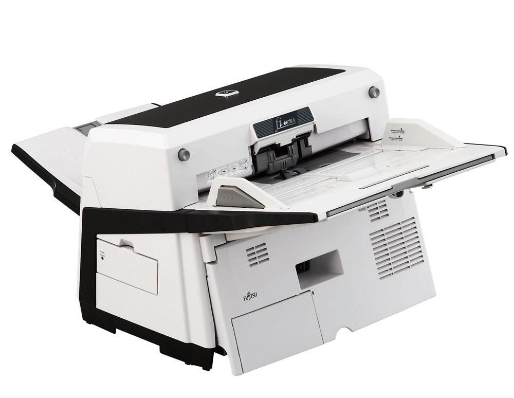 Сканер Fujitsu fi-6670, цветной, двухсторонний, 70 стр./мин, ADF 200, SCSI-2, UW SCSI, USB 2.0, A3