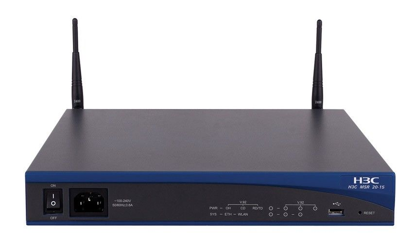 Роутер HP A-MSR20-15 A Multi-Service Router