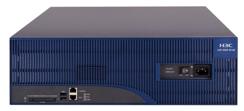 Роутер HP A-MSR30-60 Multi-Service Router   (eq.0235A320)