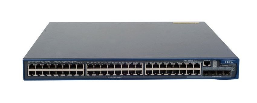 Коммутатор HP 5120-48G EI   Switch (44x10/100/1000 + 4x10/100/1000 or SFP, Managed static L3, Stacking, 19')