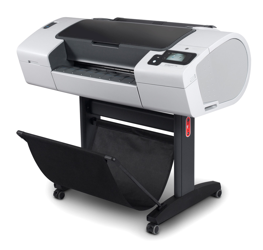 Широкоформатный принтер (плоттер) HP Designjet T790ps ePrinter (24-inch, 2400x1200dpi, 8Gb(virtual), HDD160Gb, USB/USB ext/LAN/EIO), sheetfeed, rollfeed, autocutter, TouchScreen, 6 cartr., 1y war, replace CQ306A)