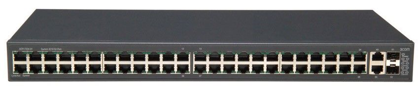 Коммутатор HP E4210-48   Switch 52-Port (48x10/100 + 2x10/100/1000 + 2xSFP, Full Managed L2 , Clustered Stacking, 19') (eq.3CR17334-91)
