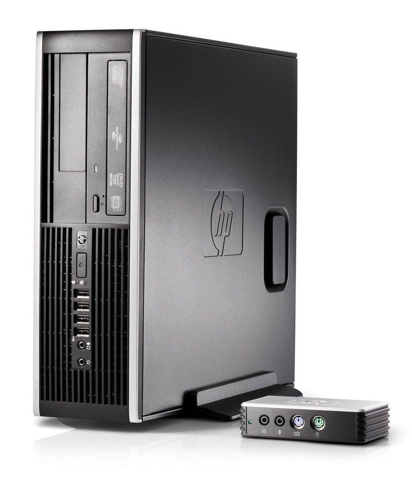 Тонкий клиент HP ms6000 Core2Quad Q9500, 8GB DDR3 PC10600(dl chnl), 500GB SATA 3.0 HDD, DVD+, -RW, GigEth, kbd, mse opt, WinMultiPointServer
