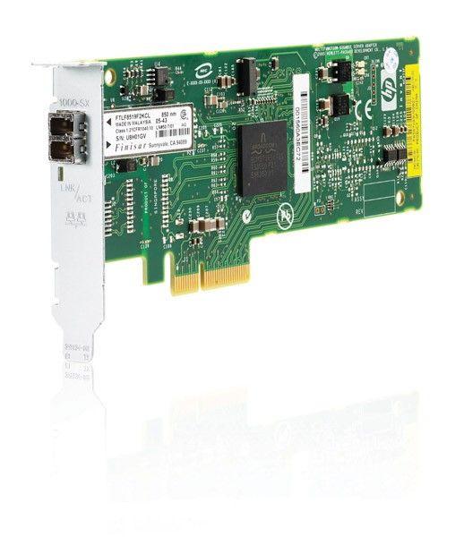 Сетевая плата HP NC373F PCI-Express Multifunction 1000SX Gigabit Server Adapter (supports TOE, iSCSI, RDMA)