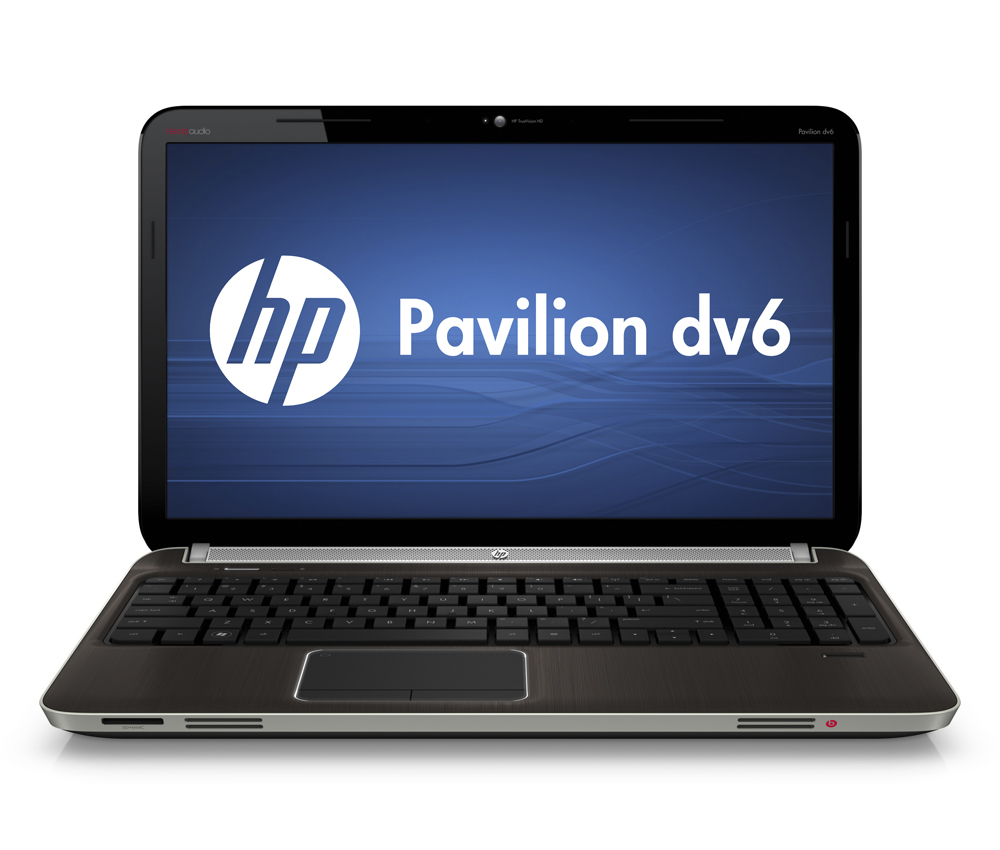 Ноутбук HP Pavilion dv6-6b01er 15.6-inch(1366x768), AMD A4 3310MX(2.1Ghz), 4096Mb, 500Gb, DVDrw, Ext:AMD Radeon HD6755G2(1024Mb), Cam, BT, WiFi, 4400mAh, war 1y, 2.9kg, Metal dark umber, W7HB64