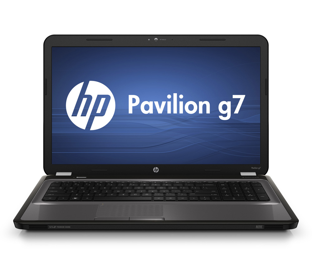 Ноутбук HP Pavilion g7-1252er 17.3-inch(1600x900), Intel Core i5 2430M(2.4Ghz), 4096Mb, 500Gb, DVDrw, Ext:AMD Radeon HD6470(1024Mb), Cam, BT, WiFi, 4400mAh, war 1y, 3kg, Charcoal Grey, W7HB64