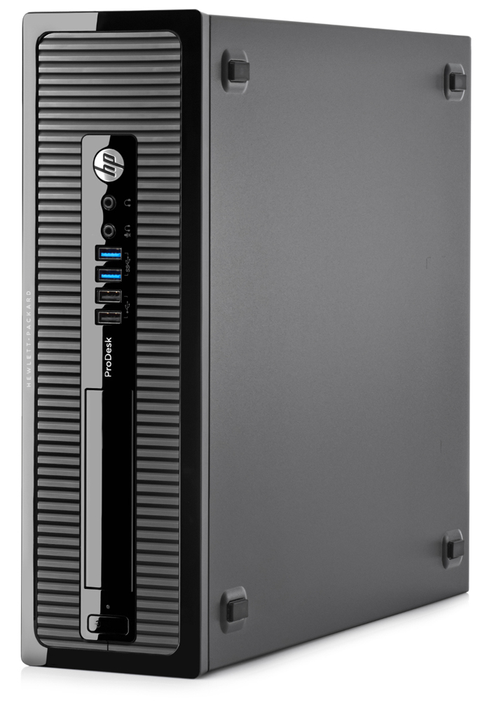 Персональный компьютер HP ProDesk 400 G2.5 SFF Core i5-4590S, 4GB DDR3L-1600 DIMM (1x4GB), 500GB 7200 RPM SATA 6G 3.5 HDD, SuperMulti DVDRW, kbd, mouse opt, Win10Pro+Win7Pro(64-bit), 1-1-1 Wty (repl.J8T18EA)