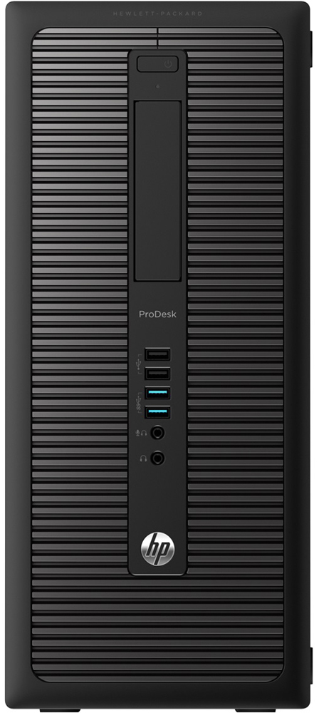 Персональный компьютер HP ProDesk 600 G1 TWR Intel Core i3-4130 3.4G 3M 1TB 7200 RPM 3.5 HD 4GB DDR3-1600 DIMM (1x4GB) RAM Slim SuperMulti ODD HP PS/2 Keyboard HP PS/2 Mouse Win8 Pro 64 downgrade to Win7 Pro 64 RUS Solenoid Lock and Hood Sensor 3/3/3