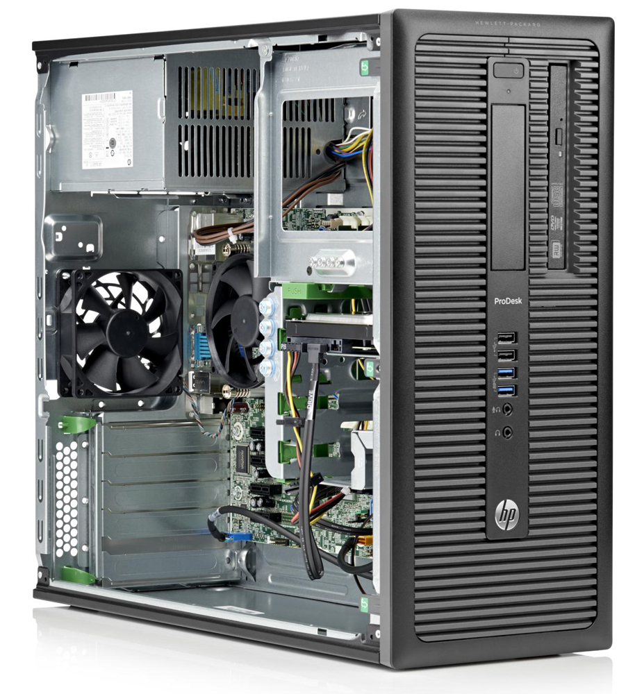 Персональный компьютер HP ProDesk 600 G1   TWR Core i5-4570 4GB DDR3 500GB SATA HDD, DVD+/-RW, AMD Radeon HD 8490,keyboard,mouse,GigLAN, Win8 Pro 64 downgrade to Win7 Pro 64,MSOf 2013 trial (rlb)