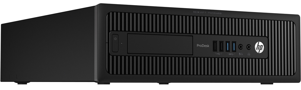 Персональный компьютер HP ProDesk 600 G4 Mini Core i3-8100T 3.1GHz, 4Gb DDR4-2666(1), 1Tb 7200, WiFi+BT, USB kbd+mouse, Stand, VGA, 3y, Win10Pro