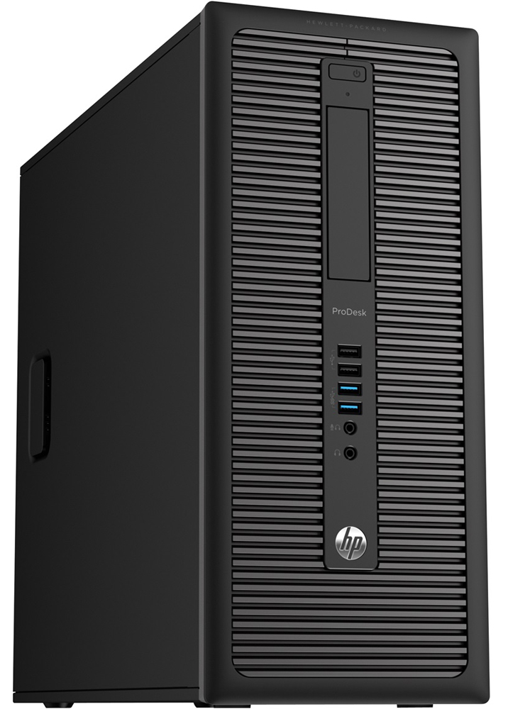 Персональный компьютер HP EliteDesk 800 G1   TWR Core i3-4130 4GB DDR3 500GB SATA HDD, DVD+/-RW,keyboard,mouse,GigLAN, Win8 Pro 64 downgrade to Win7 Pro 64,MSOf 2013 trial (rlb)