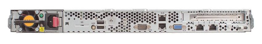 Сервер HP ProLiant DL165 G7 Server   6128 Pluggable LFF (Rack1U Opt8C 2.0Ghz(12Mb), 2x2GbRD, SATAb110i, RAID1+0, 1, 0), noLFF HDD(4), noDVD, 4xGigEth)