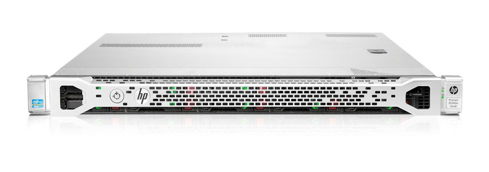 Сервер HP ProLiant DL360e Gen8 Server   E5-2407 Rack(1U), Xeon4C 2.2Hz(10MB), 1x8GbUD, B320i(512Mb, RAID0, 1, 10, 5), 2x1TbSATA(8)SFF, DVD-RW, iLO ME, 4x1GbEth, FRK, 1x460RPS(2up), 3-1-1 warr.