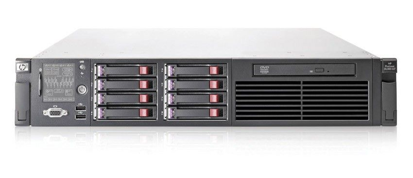 Сервер HP ProLiant DL385 G7 Server 6136 (Rack2U Opt8Core2.4Ghz(12Mb), 4x2GbR2D, P410i(256Mb, RAID5+0, 5, 1+0, 1, 0), noHDD(8, 16up)SFF, noDVD, iLO2std, 4xGigEth, 1xRPS460)
