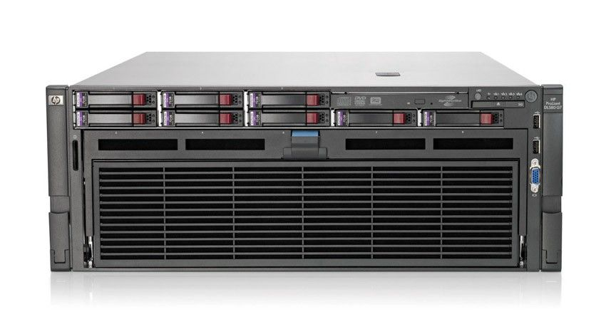 Сервер HP ProLiant DL580 G7 Server   E7540 6-core 4P SAS (4x2, 0(18mb), 8x4GbR2D(4 memory boards), no SFFHDD(8), P410iwFBWC(1Gb, RAID5, 5+0, 1+0, 1, 0), 4xGigNIC, DVD, 4xHPRPS, iLo3 with ICE)