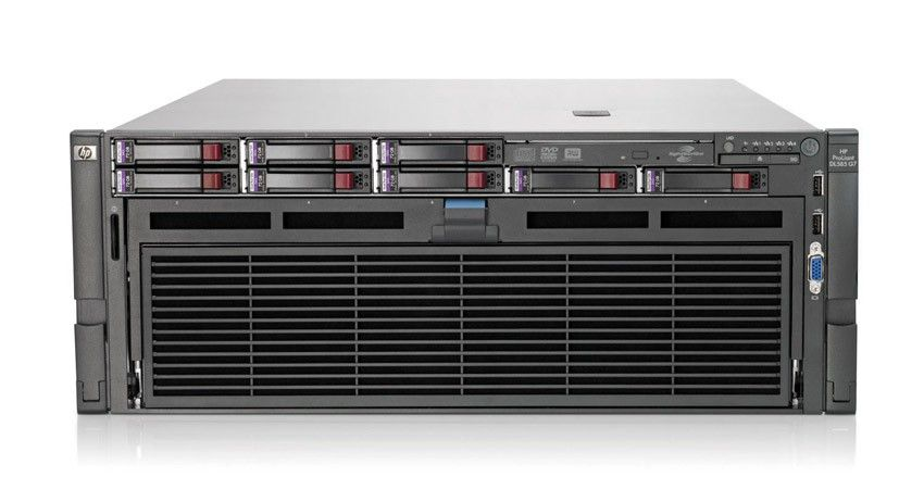Сервер HP ProLiant DL585 G7 Server 6174 (4xOpt12C 2.2Ghz(12Mb), 16x4GbR1D, no SFFHDD(8), P410iwFBWC(1Gb, RAID5+0, 5, 1+0, 1, 0), 4xGigEth MF, DVD, iLo3 with ICE, 4xRPS)
