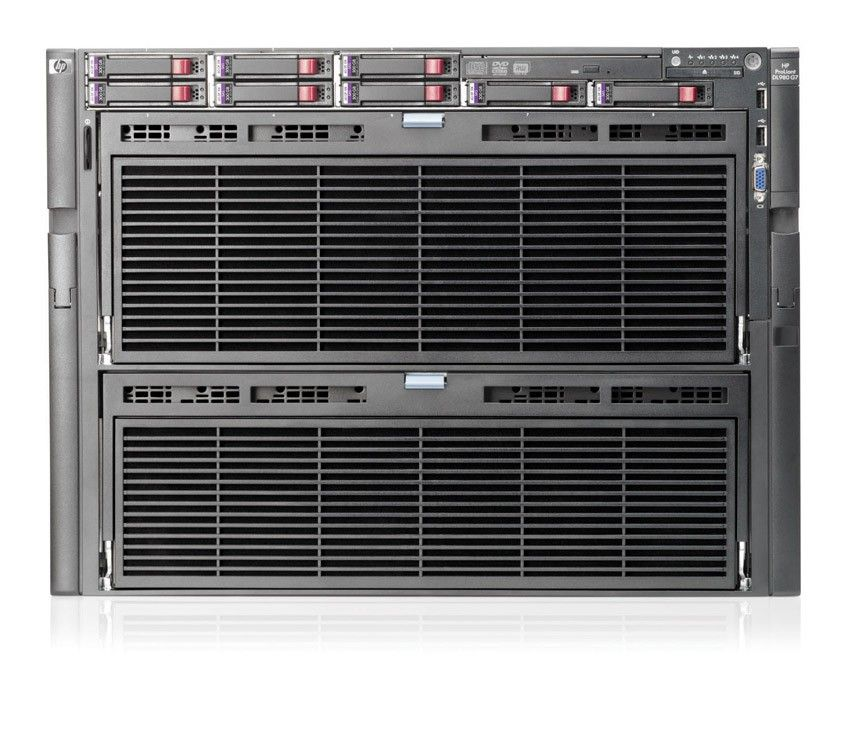 Сервер HP ProLiant DL980 G7 Server   E6540 6-core 4P SAS (4x2, 0(18mb)(up to 8), 16x8GbR2D(8 memory boards), no SFFHDD(8), P410iwFBWC(512Mb, RAID5, 5+0, 1+0, 1, 0), 4xGigNIC, DVD, 4x1, 2kW plat HPRPS, iLo3 with ICE)