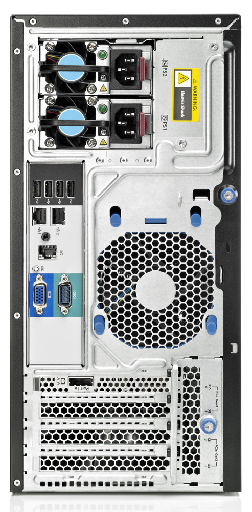 Сервер HP Proliant ML310e Gen8 Server   G2120 Hot Plug Tower(4U), Xeon2C 3.1GHz(3Mb), 1x4GbUD(LV), B120i(SATA, ZM, RAID0, 1, 1+0), 2x500Gb(4)LFF, DVD-RW, iLO4std(w, o port), 2x1GbEth, 1xPS350HE(NHP)