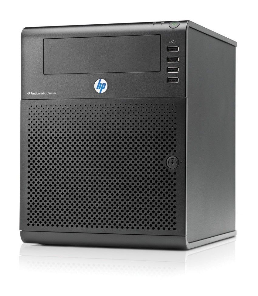 Сервер HP ProLiant MicroServer AMD AthlonII NEO N36L NHP SATA (Tower AthDC1.3GHz(2Mb), 1x1GBUD, 160GB nhp SATA(up to 4), 5-port SATA RAID(0, 1), noDVD, GigEth)