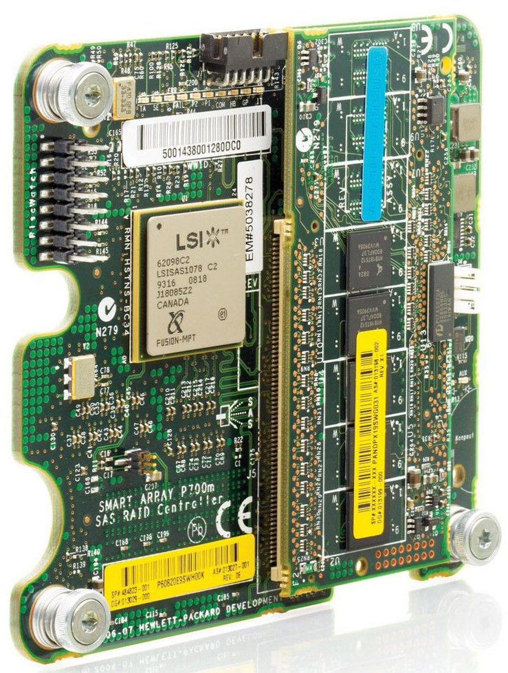 Контроллер HP Smart Array P700m 256MB SAS Contoller for blades (BL460,465,480,680,685)