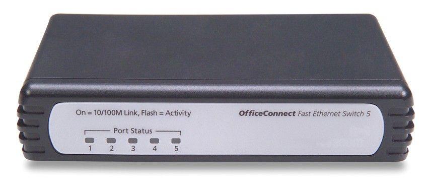 Коммутатор HP 1405C-5 (5 ports 10/100 RJ-45, Auto MDI/MDIX, Unmanaged) (eq.3C16790C)