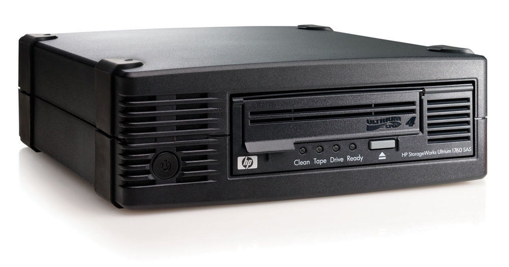 Стример HP StorageWorks Ultrium 1760 SCSI Tape Drive, Ext. (Ultr.800/1600Gb; incl. HP Data Prot. Expr. SSE; 1data crtr;VHDCI cabl;OBDR, carbon, RoHS)