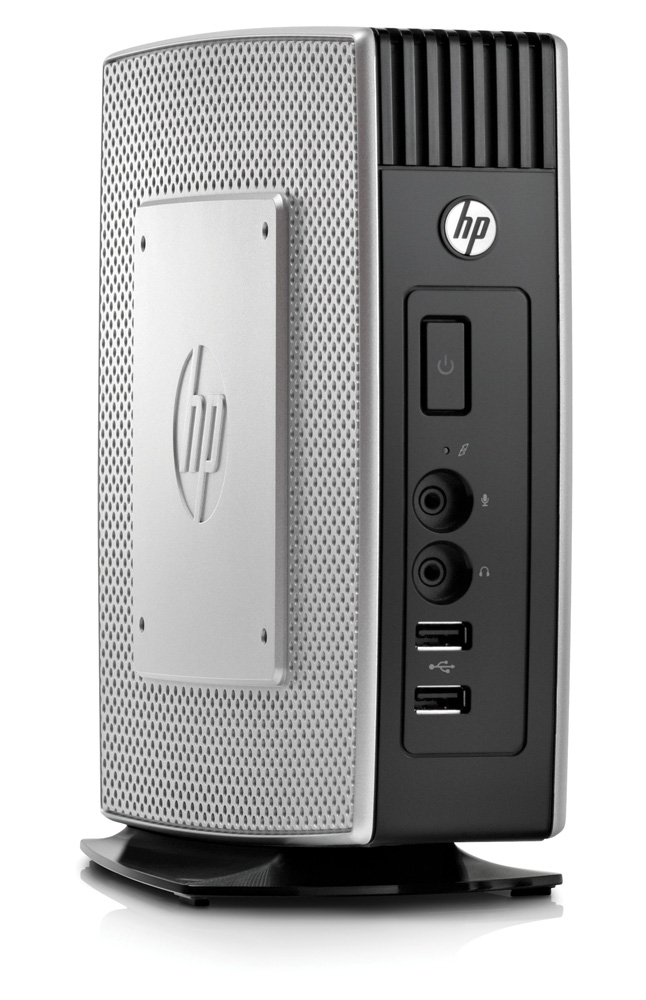 Тонкий клиент HP t5570 1GHz, 2GB flash/2GB DDR3 RAM WinES keyb/mouseVESA