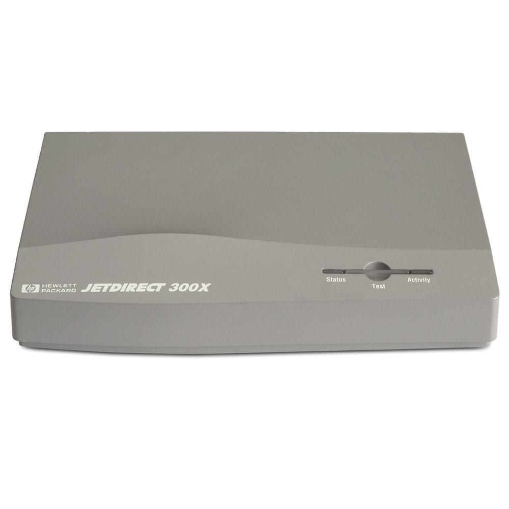Сервер печати HP JetDirect 300X External Print Server (10/100Base-TX, 1 port Parallel)