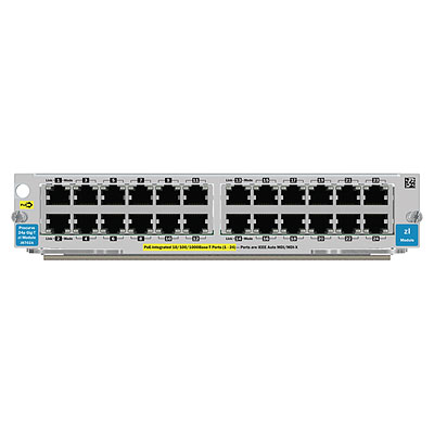 HP 24-port Gig-T v2 zl Module