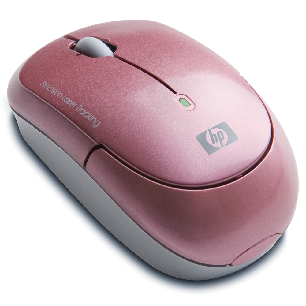 Mouse HP Wireless Laser Mini Mouse (Pink) cons
