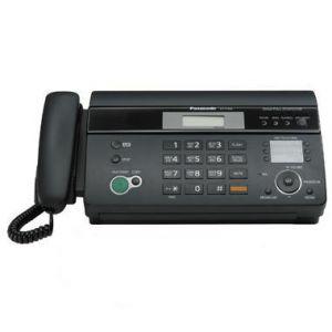 Факс Panasonic KX-FT988RU-B (черный) {термобумага, АОН, обрезка, автотв., спикер., память 100 ном.}