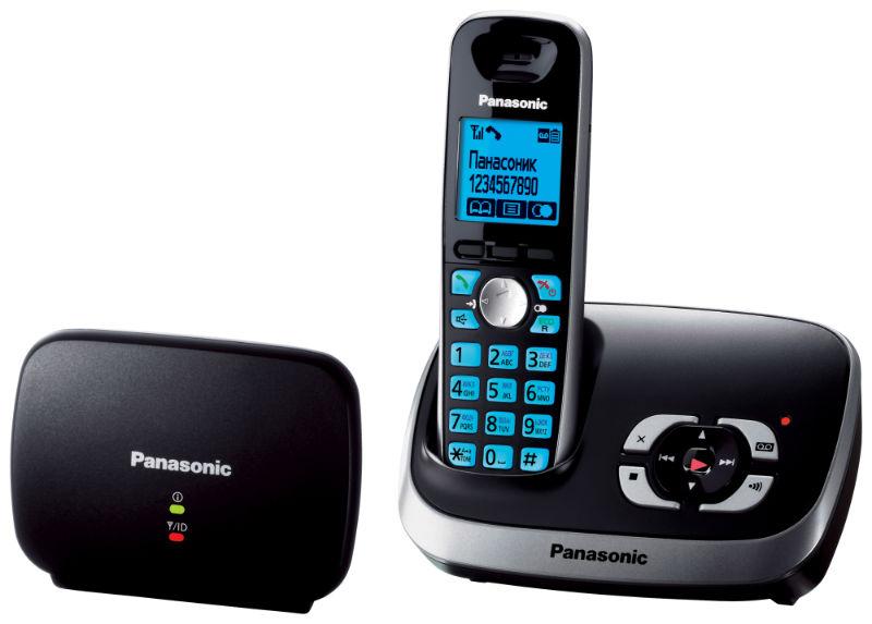 Panasonic KX-TG6541 RUB телефон DECT