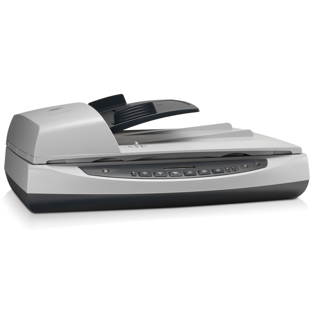 Сканер HP Scanjet 8270 ( 216x356 mm, 4800dpi, 48bit, USB, TMA, ADF 50 sheet, 25ppm, Duplex, 3 slides,4 negative frames)