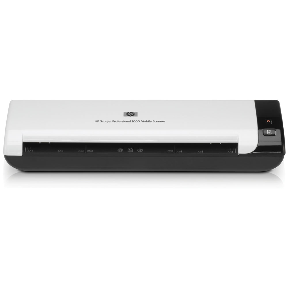 Сканер HP Scanjet Professional 1000 Sheetfeed Scanner (A4, 600x600dpi, 48bit, 5(8)ppm, Duplex, USB powered)