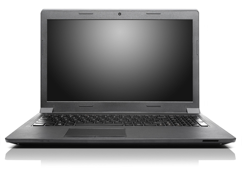Ноутбук Lenovo B5400   15.6 HD WEDGE (1366 х 768) Pen3550M, 4GB(1)DDR3, 500Gb 5400, NV GT 720M 1Gb, DVDRW, WiFi, BT, 6 cell, Camera, DOS, Black, 2, 6kg, 1y warr