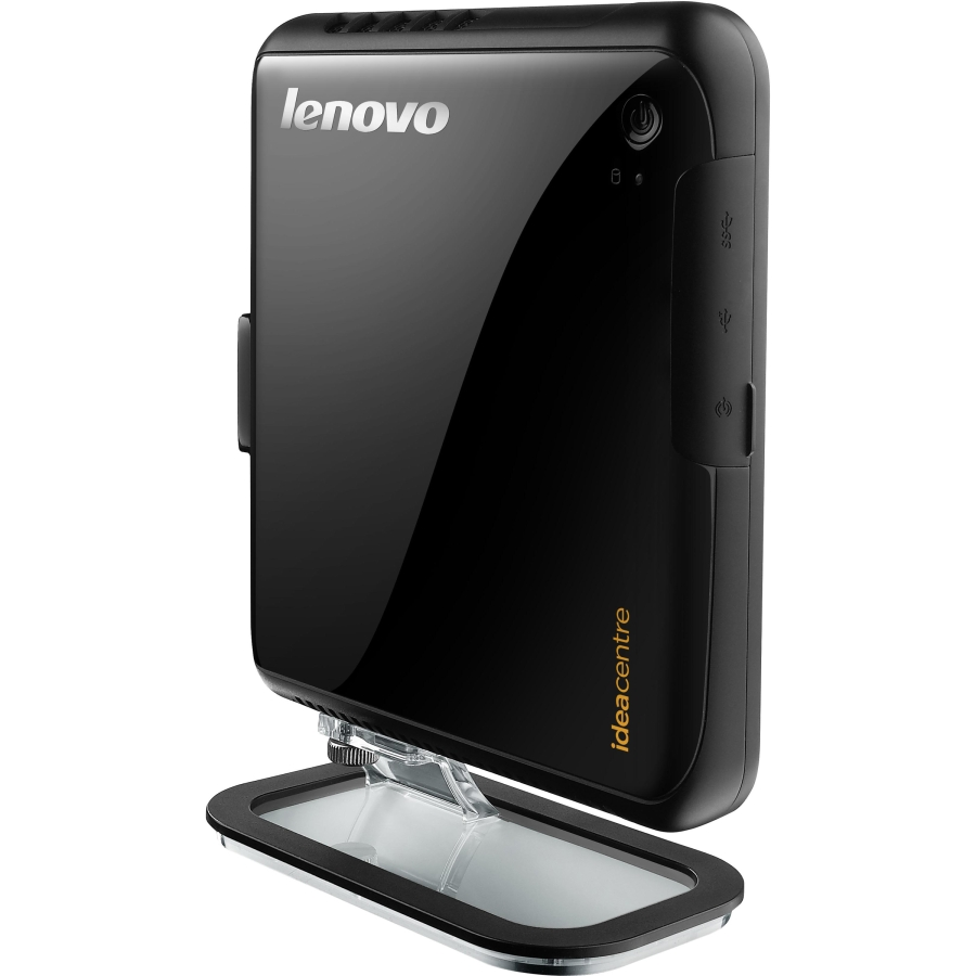 Персональный компьютер Lenovo IdeaCentre Q150 NETTOP Atom D525 (1,8GHz), 2GB, 320GB, nVIDIA ION (512Mb), WiFi, Win7St, black