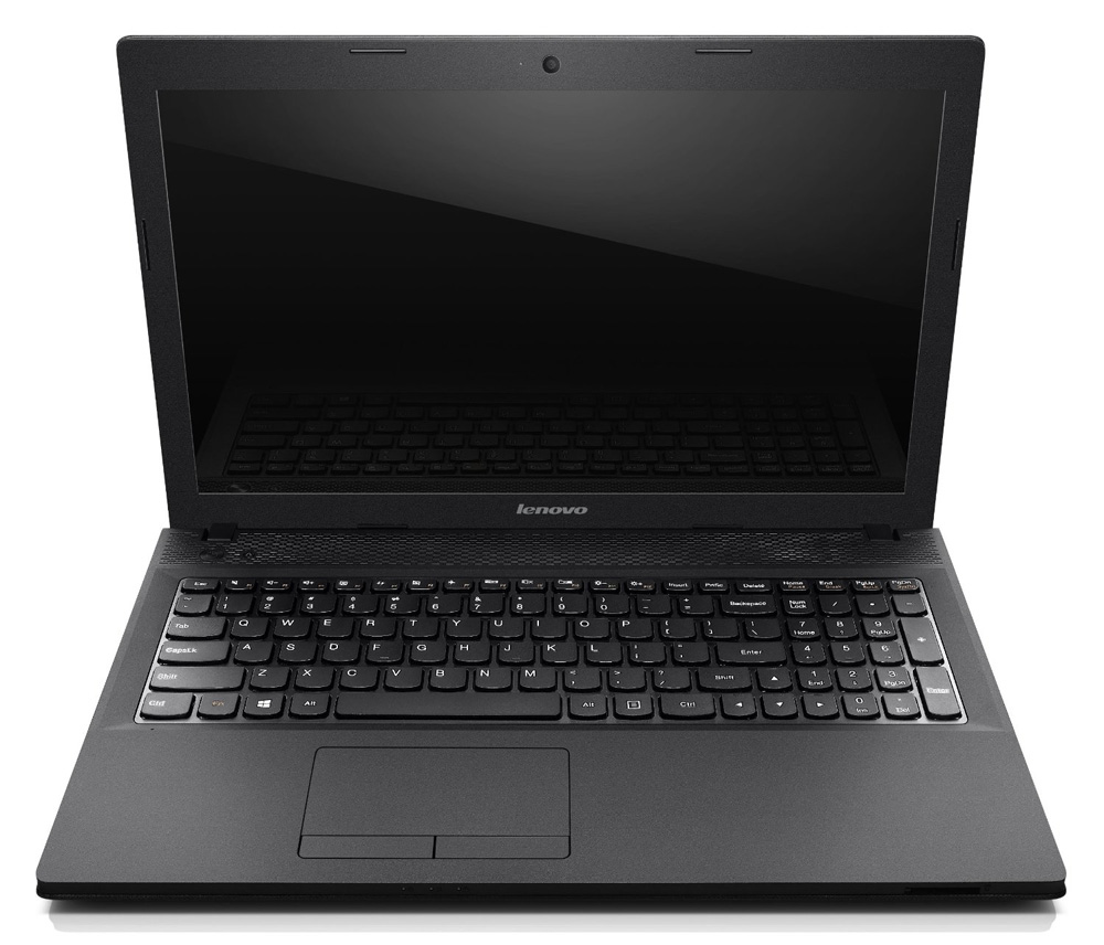 Ноутбук Lenovo IdeaPad G500   15.6 (1366x768) глян., Intel Pentium G2020M(2.4Ghz), 4GB DDR3, 320GB 5.4krpm, WiFi, BT, AMD Radeon HD 8570M 1GB, VGA, HDMI, USB2.0, 2xUSB3.0, DVDRW, WebCam, 6cel, 2.6 kg, Black, DOS