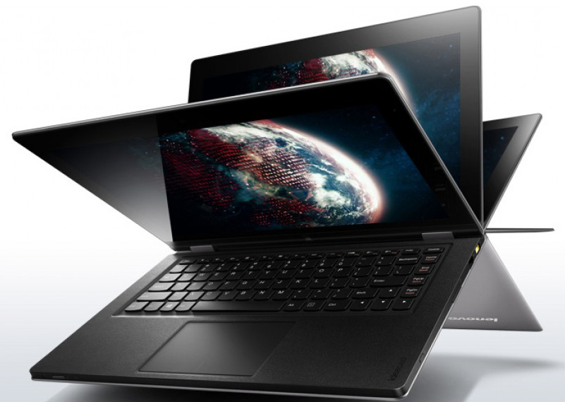 Ноутбук Lenovo ThinkPad YOGA S1 12.5-inch TOUCH FHD(1920x1080)IPS, i3-4010U(1, 7GHz), 4GB(1)DDR3, 500GB 7200+16Gb SSD , HD Graphics 4400, NoODD, WiFi, TPM, BT, FPR, LitKBD, 8cell, 4in1, WWANnone, Win 8.1 SL 64, 1.57Kg, 1y.carry in w. MT