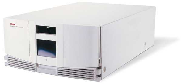 Ленточная библиотека HP StorageWorks MSL5026S2 Tape Library SDLT 320 1 Drive (max 2 drives), 26 media slots, FC, Rack 5U