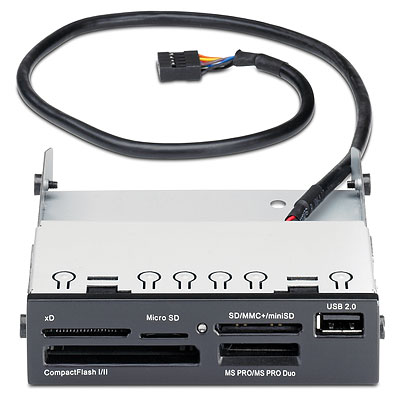 HP 22 in 1 Media Card Reader Kit(Z200, Z400, Z600, Z800)